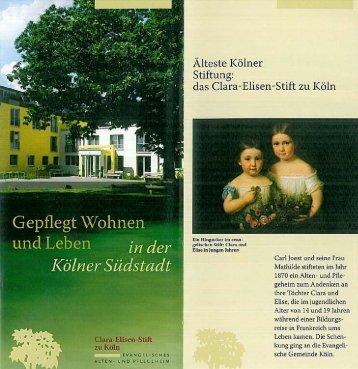 CES-Flyer - Clara-Elisen-Stift