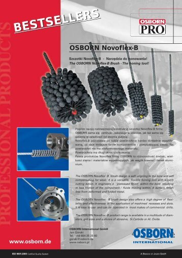 BESTSELLERS - OSBORN International GmbH