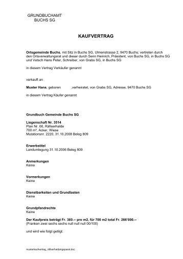 Muster Kaufvertrag für den privaten Verkauf - AUTOonline