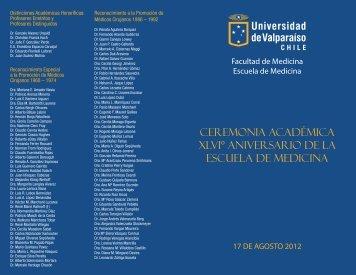 Invitación y programa - Universidad de Valparaíso