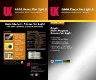 2AAA Xenon Pen Light S - Underwater Kinetics