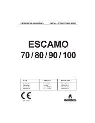 Gebruiksaanwijzing Barbas Escamo 70 - UwKachel