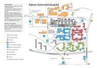 Kort over Odense Universitetshospital