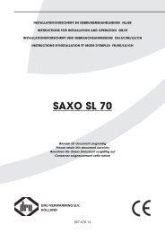 SAXO SL 70 - UwKachel