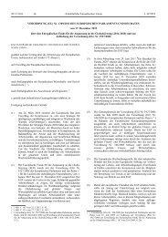 Verordnung Nr. 1309/2013 des europäischen Parlaments und des ...