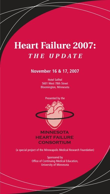 Heart Failure 2007 - University of Minnesota Continuing Medical ...