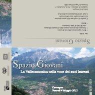Invito convegno Spazio Giovani del 4 maggio 2012 - Fondazione ...