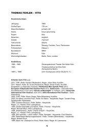 Download Vita als PDF - Thomas Fehlen