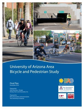 University of Arizona Area Bicycle and Pedestrian Study - Pima ...