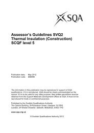 Thermal Insulation level 2 - Scottish Qualifications Authority