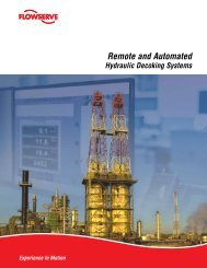 Remote and Automated Hydraulic Decoking Systems - Flowserve ...
