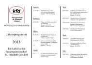 flyer programm 2013.pdf - Pastoralverbund Schmallenberger Land