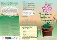Association des Jardiniers de Tournefeuille Les jardins familiaux ...