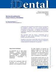 Normas de Publicacion Casos Clínicos y Portafolios - Ulacit