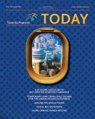 First Quarter 2013 - Toronto Pearson International Airport