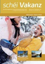 Wintersport / Sports d'hiver schéi Vakanz - MengReklammen.lu