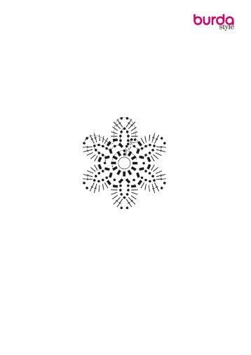 Blütenmeer: Häkel-Teppich - Burdastyle