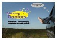 Nano-Versiegelung und Imprägnierung - Cleaning Doctors