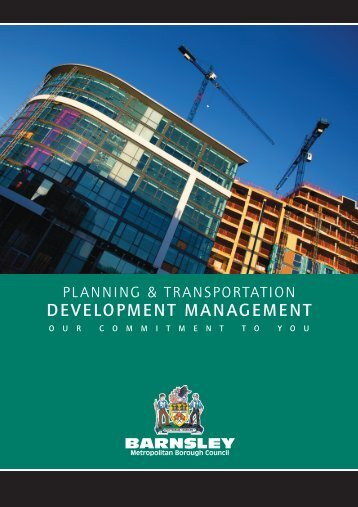DEVELOPMENT MANAGEMENT - Barnsley Council Online