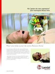 Pour une mise à jour de votre Resusci Anne - Laerdal