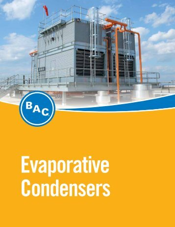 BAC Evaporative condensers