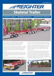 Skel Lead and Tag - SX Trailers