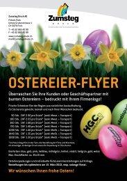 Preisliste Ostereier - Zumsteg Druck AG