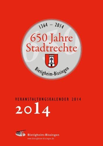 veranstaltungen-jubilaeumsjahr 01 - Bietigheim-Bissingen