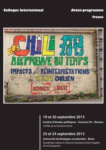 Avant-programme - Université Rennes 2