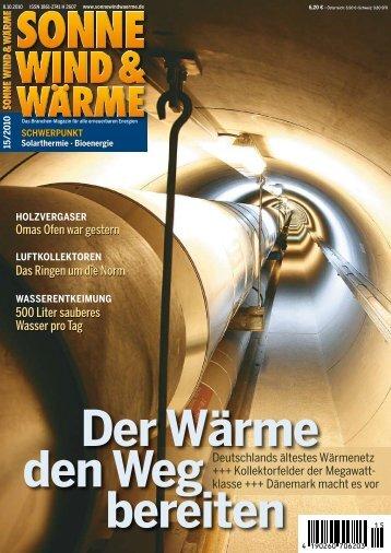 500 Liter sauberes Wasser pro Tag Das Ringen ... - GREENoneTEC