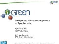 Intelligentes Wissensmanagement im Agrarbereich - Agritechnica