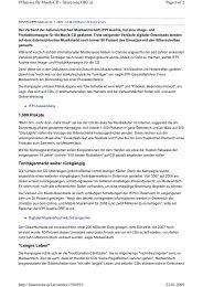 ORF online, 22.01.2009 - IFPI Austria