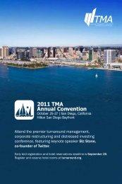 2011 TMA Annual Convention - Turnaround Management Association