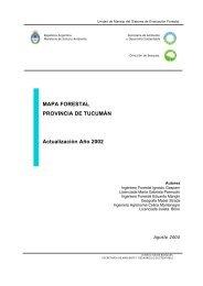 Tucumán - Secretaria de Ambiente y Desarrollo Sustentable