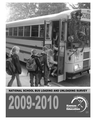 national school bus loading and unloading survey - Kentucky ...