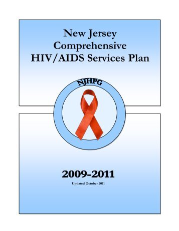 New Jersey Comprehensive HIV/AIDS Services Plan