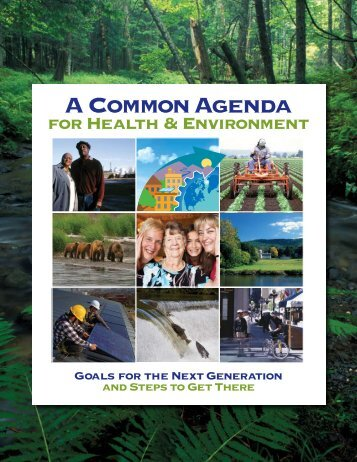 A Common Agenda - Lowell Center for Sustainable Production