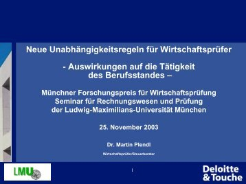 Management Tagung WEST 2002 - Seminar für Rechnungswesen ...