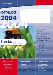KATALOG 2004 - hesko.at