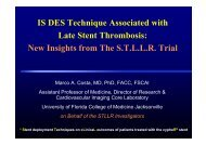 Stent thrombosis - summitMD.com