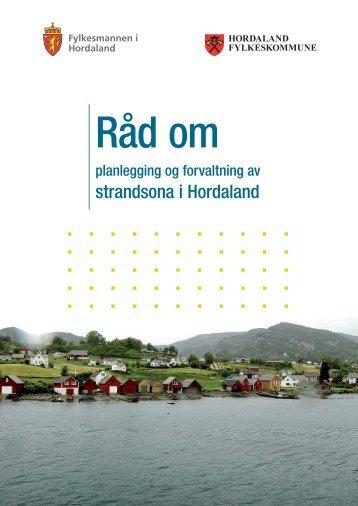 RÃ¥d om planlegging og forvaltning av strandsona i Hordaland