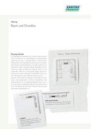 Grundrisse - Sanitas Troesch AG