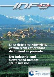 La société des industriels, commerçants et artisans de Romont se ...