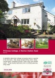 Primrose Cottage, 3 Norton Station Road