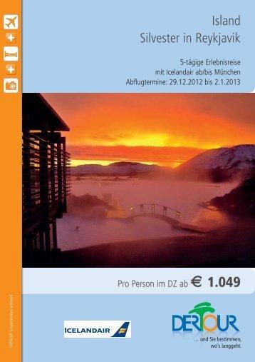 Island Silvester in Reykjavik - Strausberg-Live
