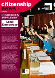 Local Democracy - Excellence Gateway