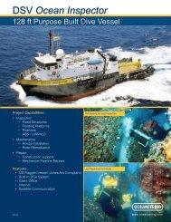 DSV Ocean Inspector - Oceaneering
