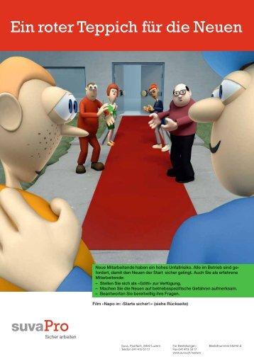 Plakat Neuer Mitarbeiter - Batisec