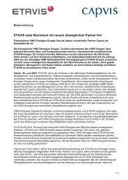 Pressemitteilung (PDF, 37 kb) - Etavis