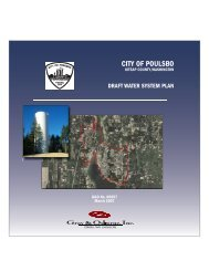 Appendix B-1 2007 Water System Plan - City of Poulsbo